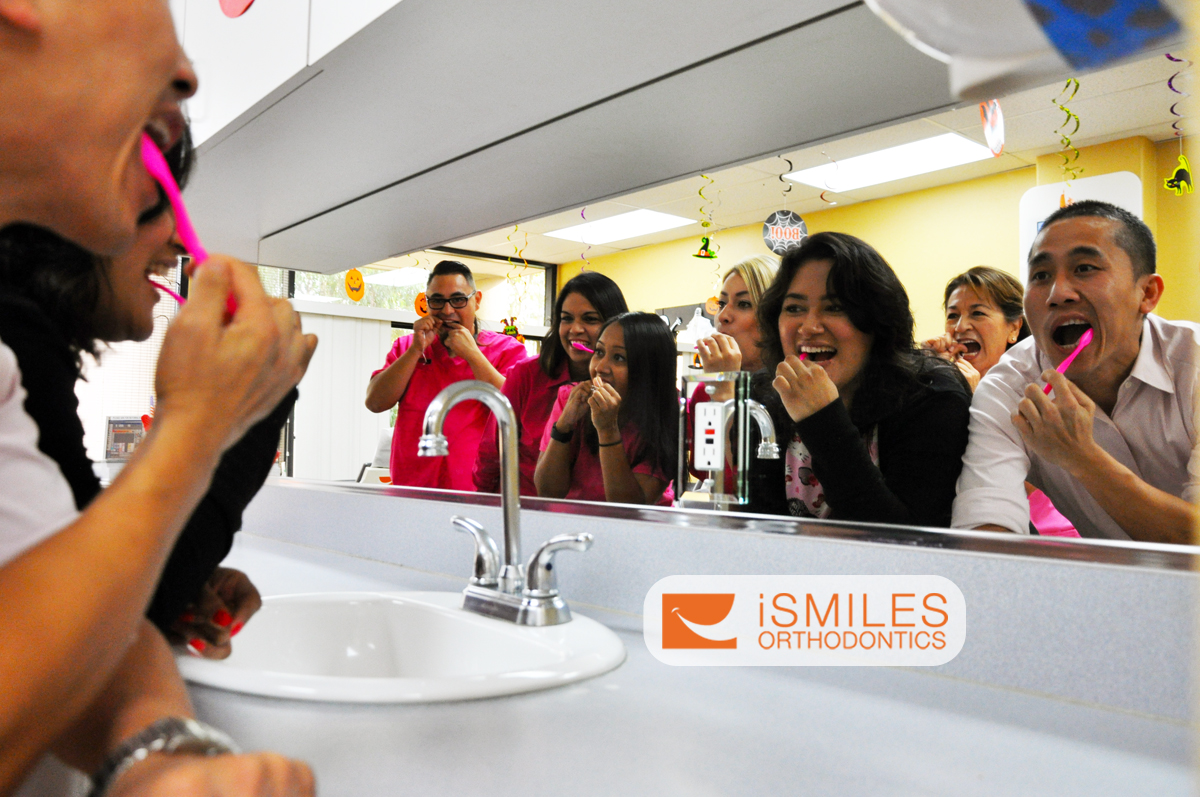 Irvine Orthodontics Braces Invisalign Brush Your Teeth Orange County OC iSmiles Orthodontics