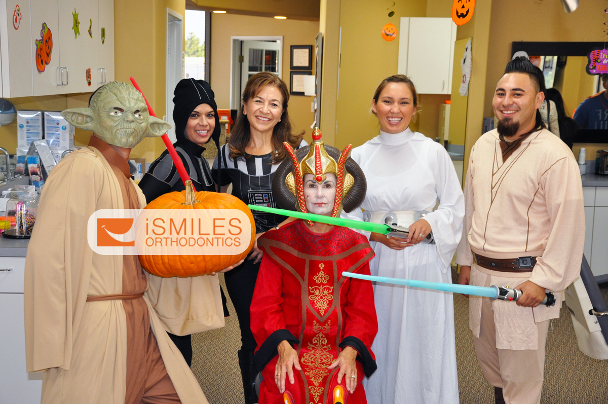 Irvine Orthodontist Invisalign Halloween Orange County OC iSmiles Orthodontics Fun