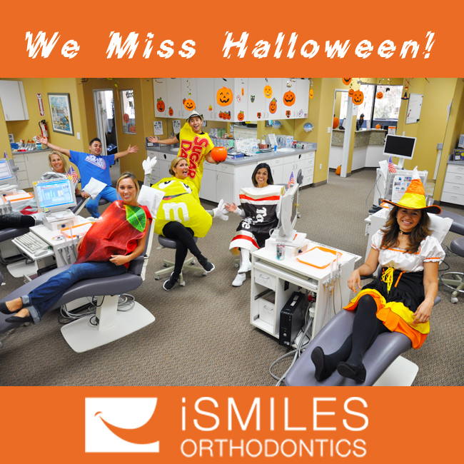 Irvine Orthodontics Braces iSmiles Miss Halloween Things Don't Eat When Having Braces